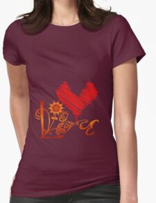 LOVELY Womens Fitted T-Shirt