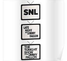 Jimmy Fallon TV History Poster