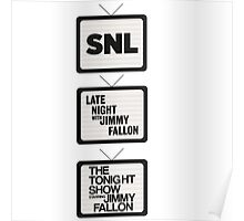 Jimmy Fallon TV History Poster