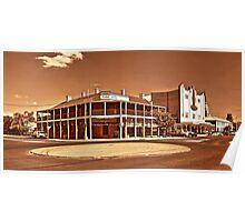 Australian famous pubs - Mudgee NSW - The Lawson Park Hotel Poster
