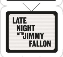 Jimmy Fallon TV History Sticker