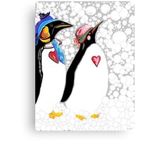 Cold Feet Warm Heart Canvas Print