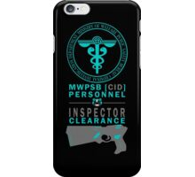 MWPSB CID (Psycho-Pass - Inspector Clearance) iPhone Case/Skin