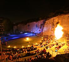 Quarry Ampitheatre by Jane Ashton