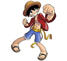 One Piece - Monkey D. Luffy Photographic Print