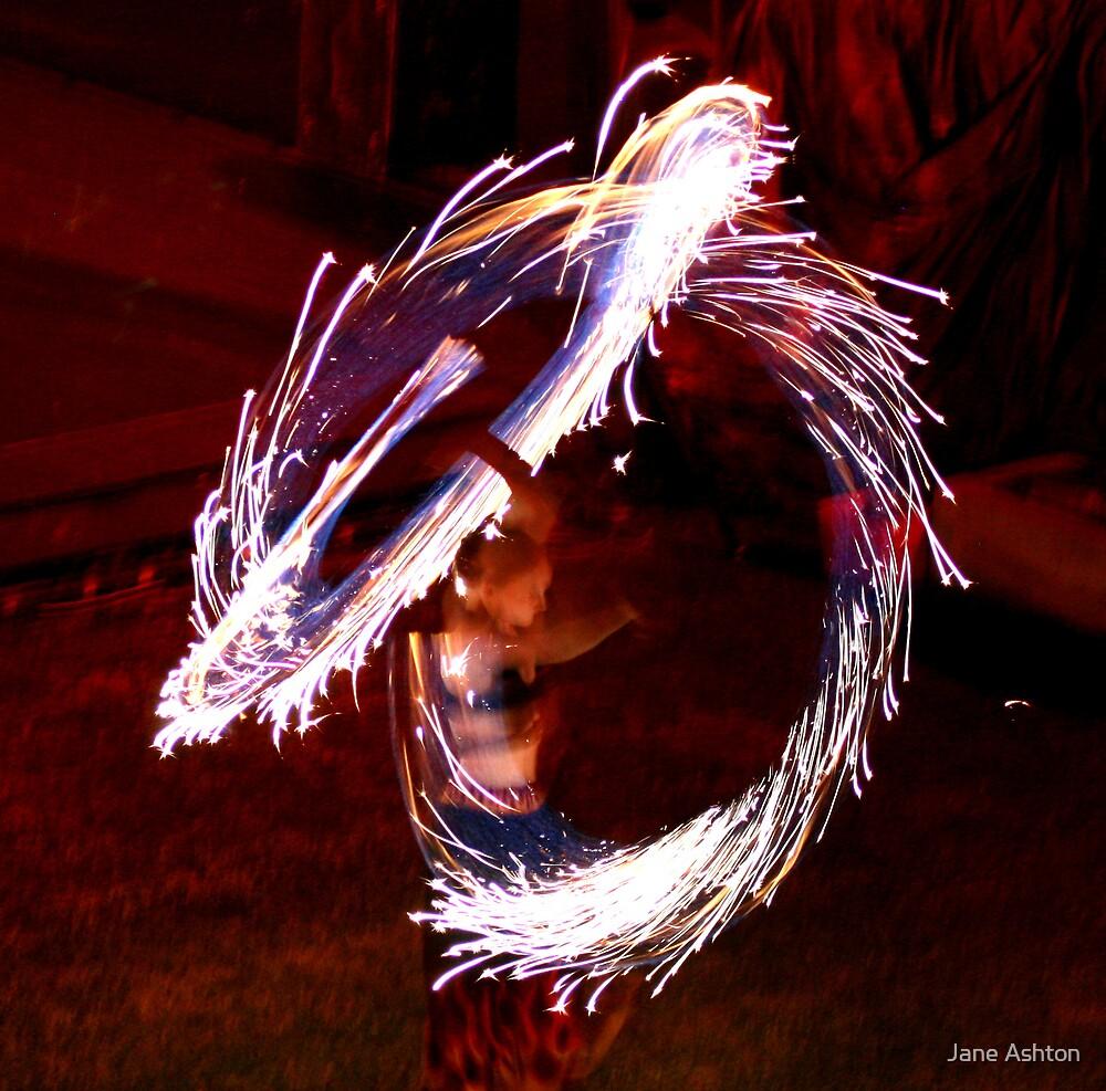 fire twirler by Jane Ashton
