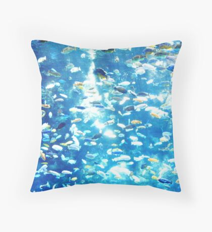Lake Malawi Throw Pillow
