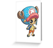 One Piece - Tony Tony Chopper Greeting Card