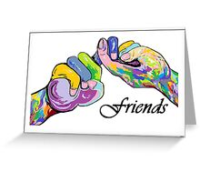 The Sign Language of FRIENDS Greeting Card