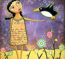 Fly Penguin Fly! by duckhorn