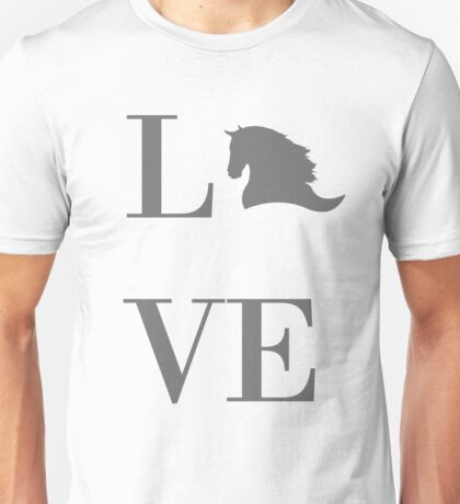 Love Horses Unisex T-Shirt