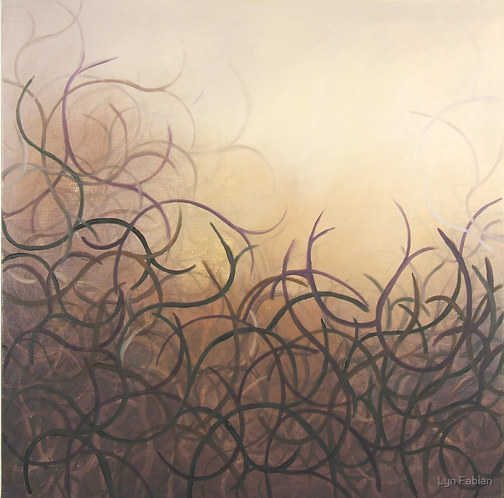 Abstract 2 (Entangled) by Lyn Fabian
