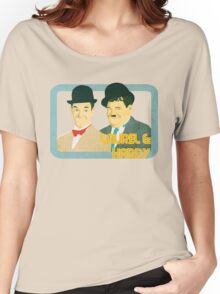 Laurel & Hardy Women's Relaxed Fit T-Shirt