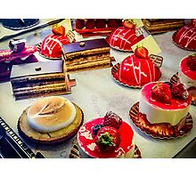 Paris Sweets Photographic Print