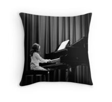 The Recital Throw Pillow