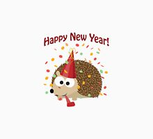 Happy New Year Hedgehog Unisex T-Shirt