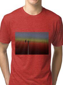 On the line Tri-blend T-Shirt