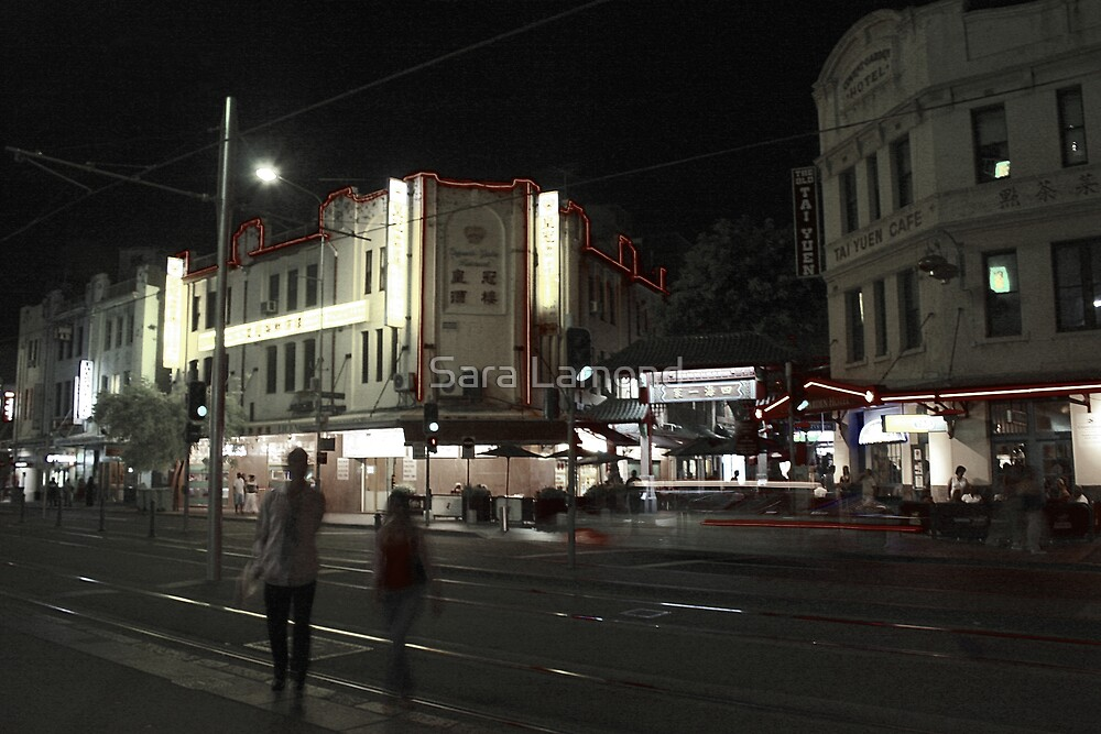 Gritty City 3 - Late night Haymarket by Sara Lamond