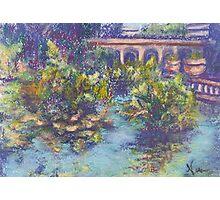Balboa Gardens (pastel) Photographic Print