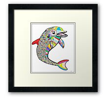 Dolphin - The Devil's in the Details Framed Print