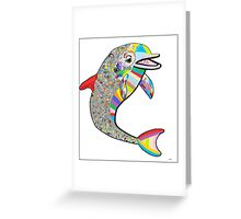 Dolphin - The Devil's in the Details Greeting Card