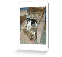 Yes, I'm spoiled! Greeting Card