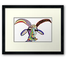 Somebody Get Your Goat? Framed Print