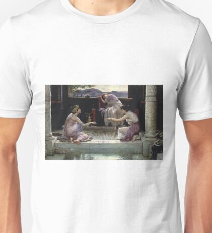Edward Poynter - When The World Was Young1891 Unisex T-Shirt