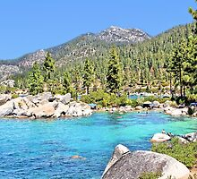 Secluded Cove on Lake Tahoe by Jane Girardot
