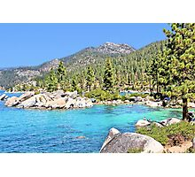 Secluded Cove on Lake Tahoe Photographic Print