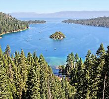 Emerald Bay on Lake Tahoe by Jane Girardot