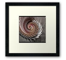 FRACTAL ART, spun glass look, 3D Framed Print