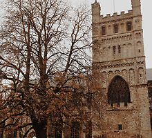 Exeter Cathedral by AlexJordan98