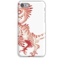 Christmas Velociraptor iPhone Case/Skin