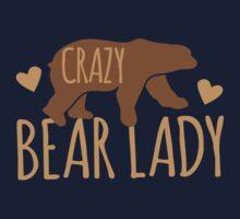 Crazy Bear lady One Piece - Long Sleeve