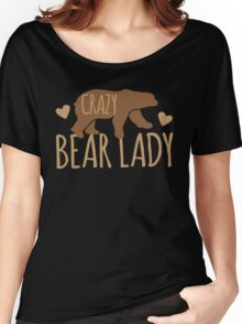 Crazy Bear lady Women's Relaxed Fit T-Shirt