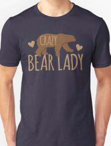 Crazy Bear lady Unisex T-Shirt