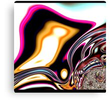 COLORFUL PSYCHEDELIC, modern ABSTRACT fractals Canvas Print