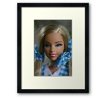 I'm a barbie girl Framed Print
