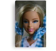 I'm a barbie girl Canvas Print