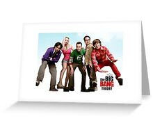 Big Bang Theory Greeting Card