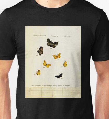 Jacob Hübner's papilio 1841 104 Unisex T-Shirt