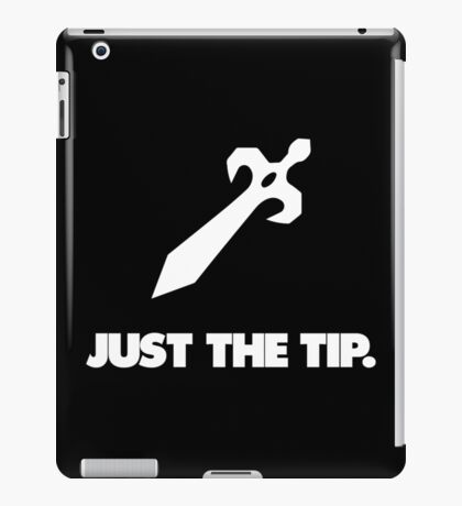 Just the Tip iPad Case/Skin