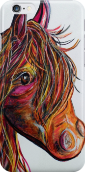 A Stick Horse Named Amber by EloiseArt