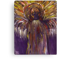 Angel (from my original acrylic painting) Canvas Print