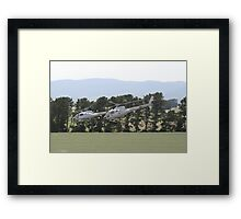 Helicopters In Formation Framed Print