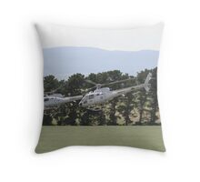 Helicopters In Formation Throw Pillow