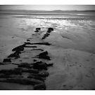 Winter beach, Orkney by lukasdf