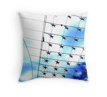 shopping stars Throw Pillow