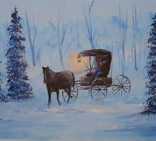 Carrage Ride Home by William  Boyer